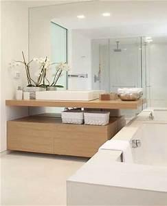les 4 secrets deco d39une salle de bain zen deco cool With salle de bain epuree