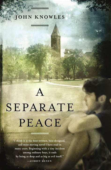 separate peace book  john knowles official