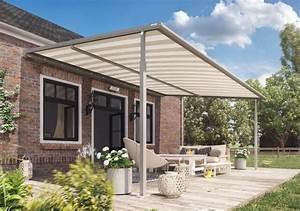 pergola markise stabilitat auf grosser flache With markise balkon mit tapeten trends 2017 flur