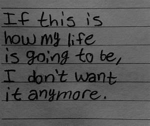 Depressive , Suicidal & Self Harm Quotes.