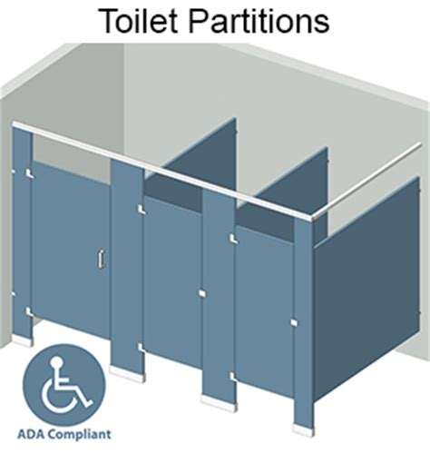 Bathroom Stall Dividers Dimensions by Bathroom Dividers In Various Materials Free Shipping