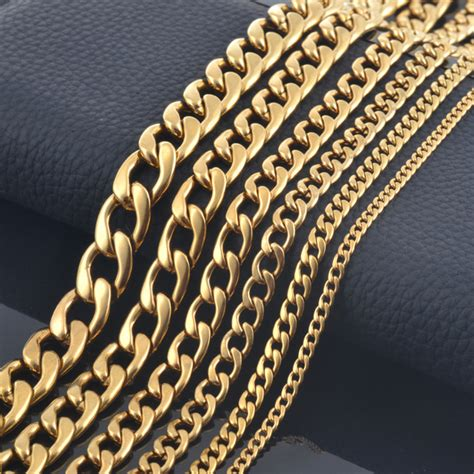 type 316 stainless steel chain aliexpress com buy new design men fashion gold color 316