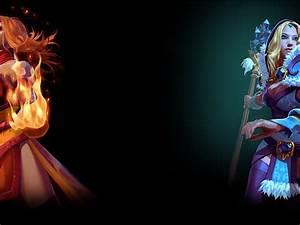 Lina and Crystal Maiden – DotA 2 Wallpaper free desktop ...