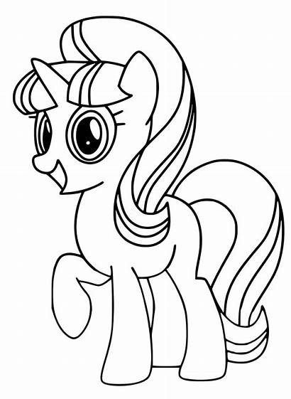 Coloring Starlight Glimmer Pony Evil Minnie Mouse