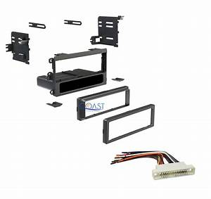 Car Radio Stereo Dash Kit Harness For 2000