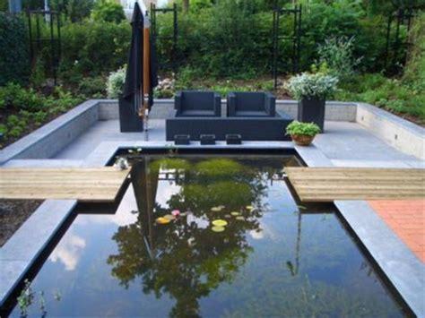 tuin met vijver vlonder en overkapping moderne tuin aan het water leeuwarden car interior design