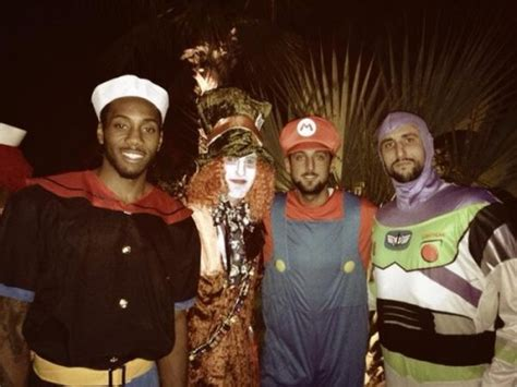 nba players  halloween daily snark
