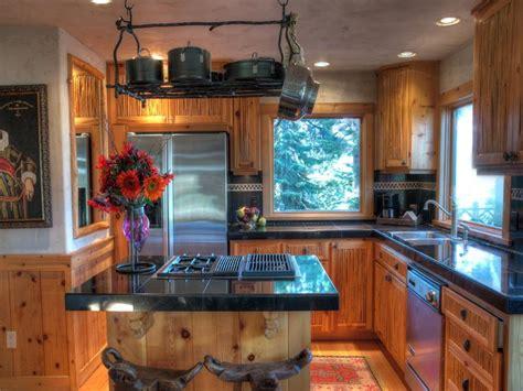 knotty pine kitchen island carnelian bay property enchants buyers with its 749 000 6676