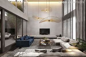 A, Luxury, Apartment, With, A, Double, Height, Ceiling