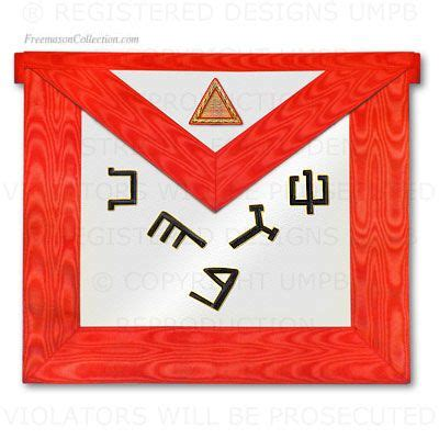 6 176 degree scottish rite apron width prince masons freemason masonic symbols freemasonry