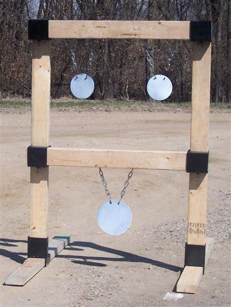 hanging target stand custom steel targets plate racks