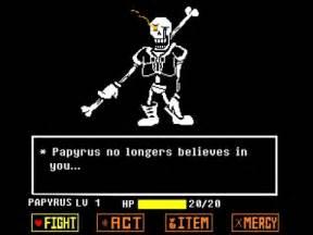 Undertale Papyrus Disbelief