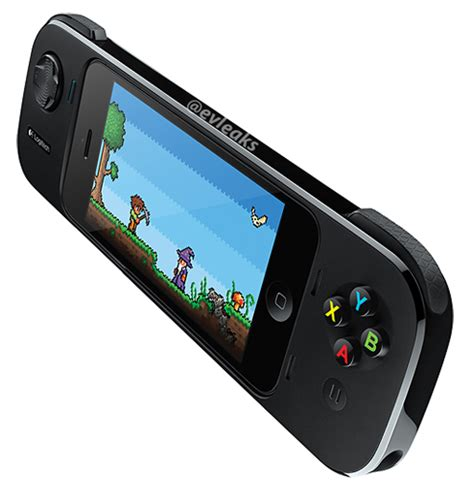 iphone controller here s what logitech gamepad for iphone looks like