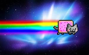Nyan Cat Wallpaper by ExplosivePixel on DeviantArt