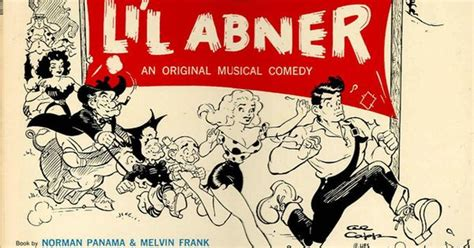 Poster For Li'l Abner The Broadway Musical