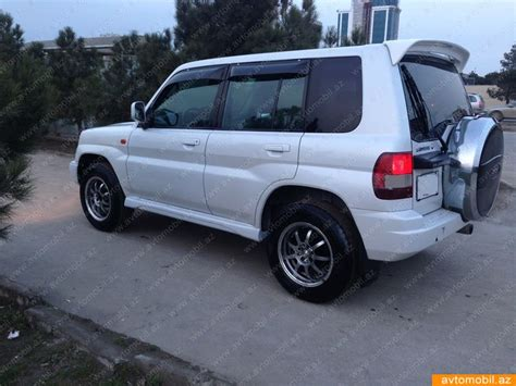 mitsubishi pajero io mitsubishi pajero io urgent sale second hand 1999 6900