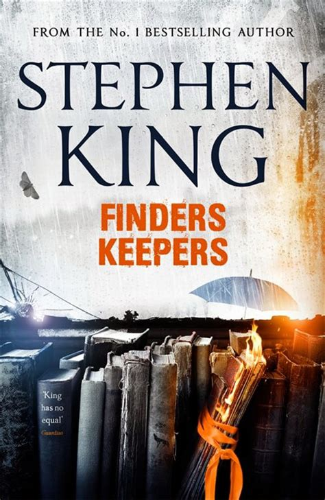 finders keepers  stephen king   cool cover