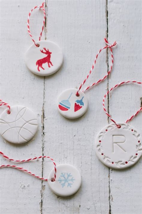 diy clay christmas ornaments 9 diy white clay ornaments to try shelterness