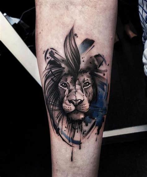 idees en  de tatouage lion inspirez vous de