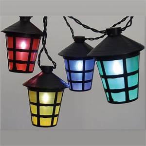 Laternen Für Aussen : led lichterkette mit 50 laternen lampions bunt partylichterkette 12 5 m au en ebay ~ Markanthonyermac.com Haus und Dekorationen