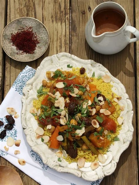 morroccan l moroccan 7 vegetable couscous