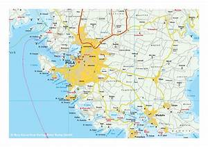 Kroatië Landkaart