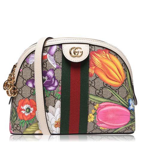 gucci floral sm shoulder bag flannels