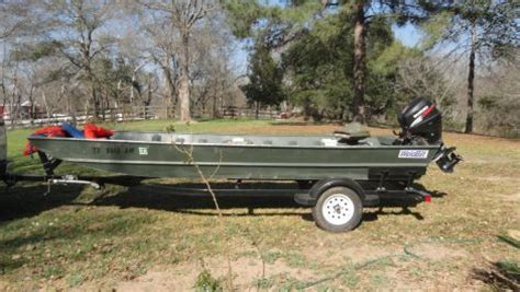 Grizzly Flat Bottom Boats For Sale by 2009 16 Foot Weldbilt Flatbottom Boat Fishing Boat For