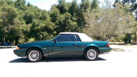 buy   ford mustang  lx convertible fox body