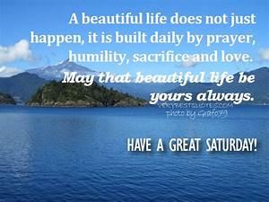 Christian Quote... Saturdays Morning Quotes