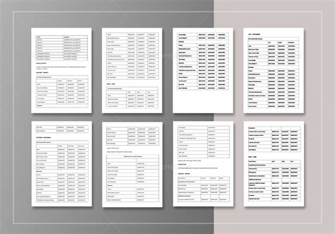 simple annual report template  word google docs apple