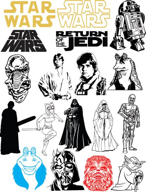 Vector clipart software star wars - Clip Art Library