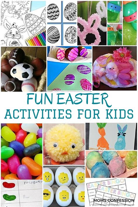 easter activities for 20 fun easter activities for kids of all ages