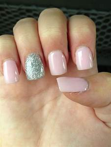 Light pink nails with design - how you can do it at home ...