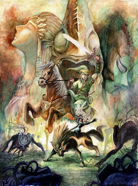 Cool Twilight Princess Art From The Internet Zelda
