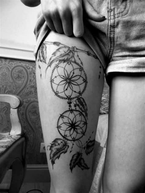 24+ Dreamcatcher Tattoos On Foot