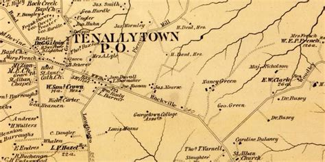 Love These Rural Maps of Washington in 1879 Ghosts of DC