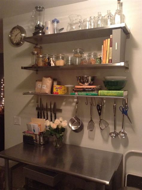 ikea ekby mossby grundtal shelving bungalow kitchen