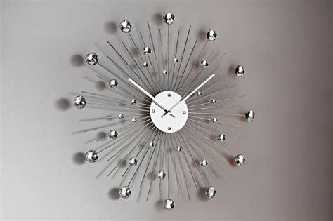 idee deco chambre déco murale horloge