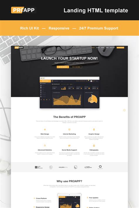 App Download Html5 Template by Mobile App Landing Page Html5 Template