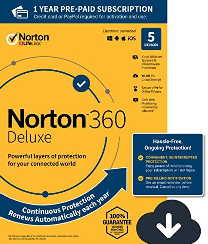 norton cloud new norton 360 deluxe antivirus software for 5 devices