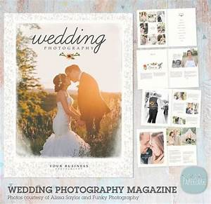 24 page wedding photography magazine template pg010 for Wedding photography magazine template