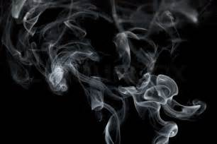 Abstract Black Smoke Png by Abstract Smoke Isolated On A Black Background Stock