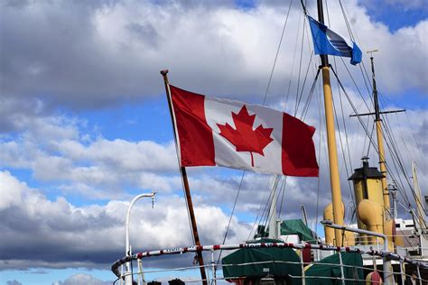 Boat Flags Canada by Free Images Sea Boat Wind Vehicle Mast Flag Port