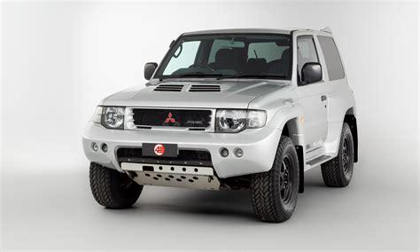 Due to the name pajero roughly translating to wanker in spanish. Mitsubishi Pajero Evolution