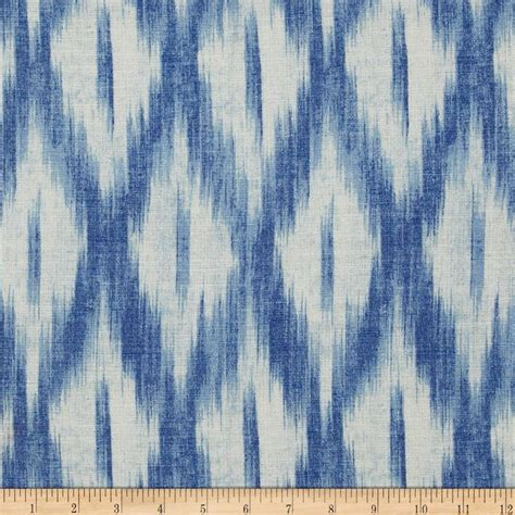 cotton eyelet beading stripe white upholstery indigo