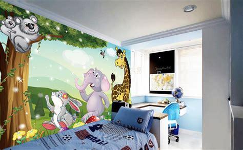 chambre bébé décoration murale tapisserie numérique sur mesure papier peint personnalisé