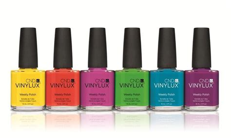 Cnd Vinylux Weekly Nail Polish Lacquer Paradise Collection