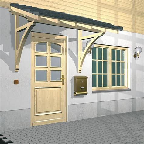 vordach hauseingang holz pultvordach bellinzona kaufen 187 gestell aus fichtenholz