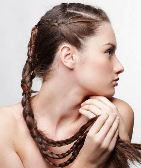 quick  easy hairstyles  long hair  school